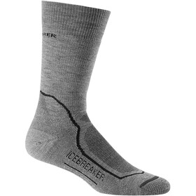 Icebreaker Hike+ Medium Crew Chaussettes Homme, twister heather